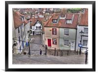 Whitby, Framed Mounted Print