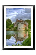 Scotney Castle, Framed Mounted Print