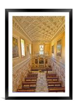 The Chapel at Holkham Hall, Framed Mounted Print