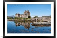 Eilean Donan Castle Reflections, Framed Mounted Print