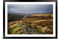 Abbey Bank Rainbow - , Framed Mounted Print