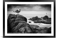 The lighthouse keeper, Framed Mounted Print