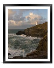 Trevose Lighthouse, Framed Mounted Print