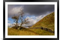 Lake District composition, Framed Mounted Print