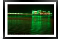Weston Pier, Framed Mounted Print