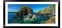 Mullion in Cornwall, Framed Mounted Print