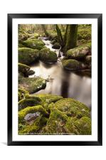 Becka Brook - Dartmoor, Framed Mounted Print