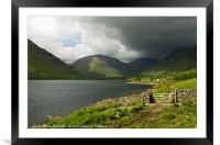 Wasdale Head Farm, Framed Mounted Print