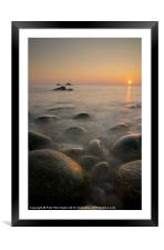 Porth Nanven - Cornwall, Framed Mounted Print