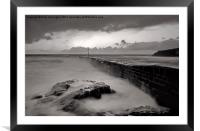 Porthleven in Cornwall, Framed Mounted Print
