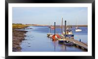 Wells Next To Sea, Framed Mounted Print