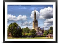 Norwich Cathedral., Framed Mounted Print