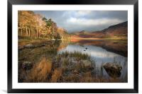 An Autumnal Blea Tarn, Framed Mounted Print
