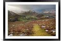 Martindale A Cumbrian Splendor, Framed Mounted Print