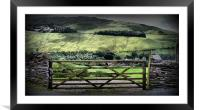Gateway to Helvellyn - The Lakes, Framed Mounted Print