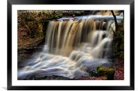 DALESCAPES: Crackpot Foss, Framed Mounted Print