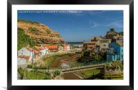 Staithes, Framed Mounted Print
