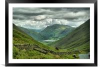 Brothers Water From Kirkstone Pass, Framed Mounted Print
