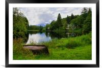 Tranquility At Loch Ard, Framed Mounted Print
