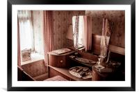 The Dressing Table, Framed Mounted Print