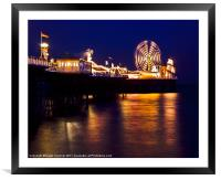 Brighton's Palace pier, Framed Mounted Print