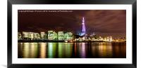 The Shard Lasers, Framed Mounted Print