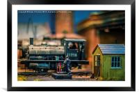 The Signalman, Framed Mounted Print