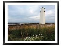 Southerness Lighthouse 1748, Framed Mounted Print