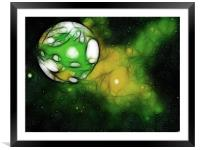 Another World, Framed Mounted Print