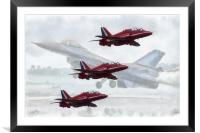 Airshow, Framed Mounted Print