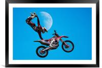 Freestyle, Framed Mounted Print