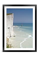 Beachy Head, Framed Mounted Print