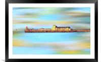 Bournemouth Pier, Framed Mounted Print
