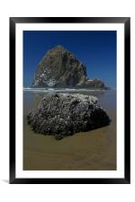 Cannon Beach, Framed Mounted Print