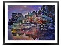 Enchanted at Twilight, Framed Mounted Print