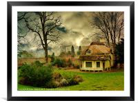 Blaise Castle Dairy House, Framed Mounted Print