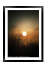 BY HIS GRACE, Framed Mounted Print