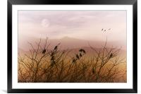A GATHERING, Framed Mounted Print