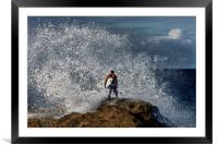 Leap of Faith, Framed Mounted Print