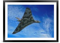 Avro Vulcan (3), Framed Mounted Print