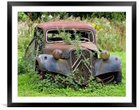 Abandoned Citreon, Framed Mounted Print