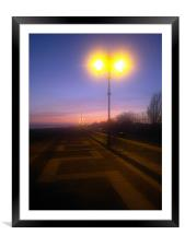 Southsea seafront, Framed Mounted Print