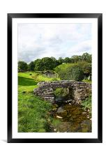 Great Asby bridge, Framed Mounted Print