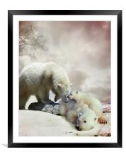 Family Matters, Framed Mounted Print