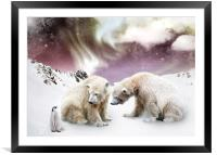 Northern Treasures, Framed Mounted Print