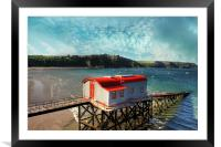 Tenby Lifeboat House, Framed Mounted Print