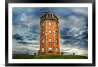 Jersey Marine Tower, Framed Mounted Print