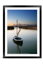 Musselburgh Harbour, Framed Mounted Print