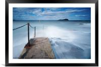 North Berwick Harbour, Framed Mounted Print