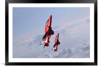 Vertical Arrows, Framed Mounted Print